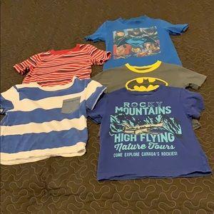 size 4 boy's shirts